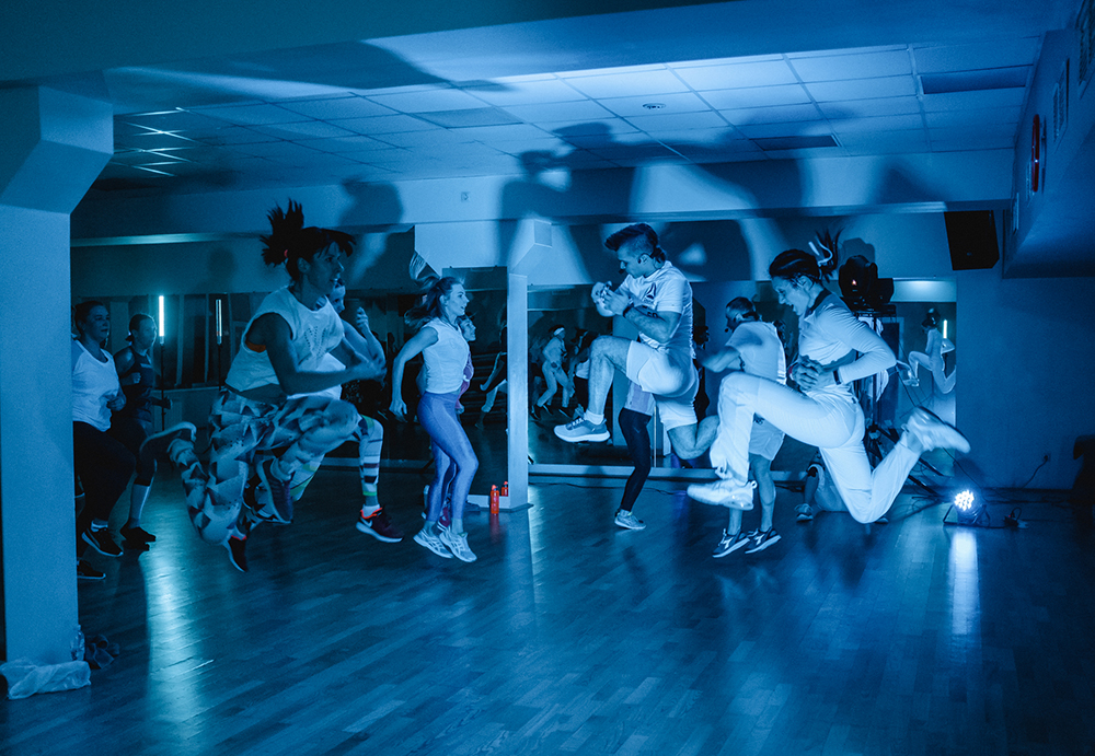 Winter Fitness Party на перезагрузке LesMills